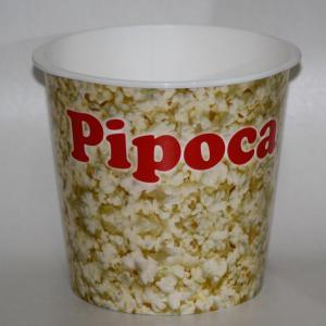 Fábrica de balde de pipoca personalizado